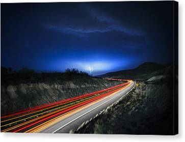 Storm Chasers Canvas Print by Sean Foster