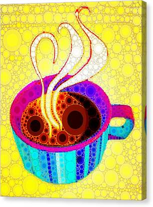Strong Coffee Canvas Print by Cindy Edwards