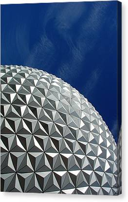 Canvas Print featuring the photograph Structural Beauty by David Nicholls