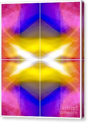 Structural Elements - Polytych  Canvas Print by Douglas Taylor
