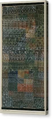 Structural Canvas Print by Paul Klee