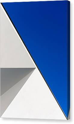Diagonal Canvas Print - Structured Illusion by Jo?o Cust?dio