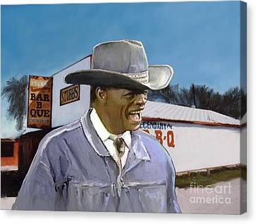 Stubb's Canvas Print by GCannon