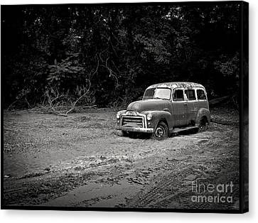 Stuck In The Mud Canvas Print by Edward Fielding