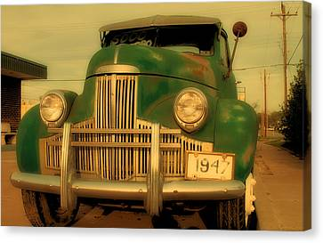 Studebaker For Sale Canvas Print by Tony Grider