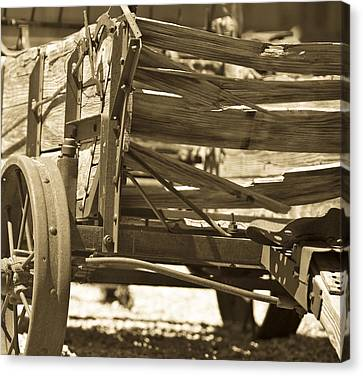 Studebaker  Wagon Canvas Print by Gilbert Artiaga
