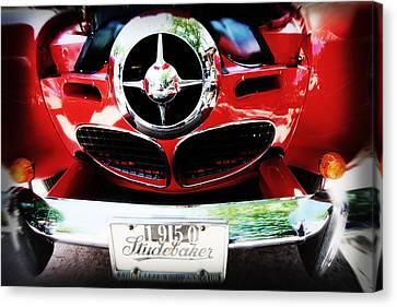 Studebaker Shines Canvas Print by Toni Hopper