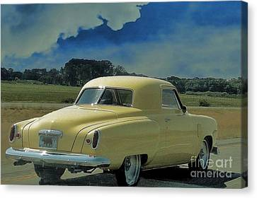 Studebaker Starlight Coupe Canvas Print by Janette Boyd