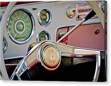 Studebaker Steering Wheel Canvas Print