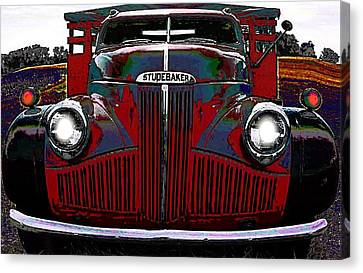 Studebaker Truck Canvas Print