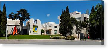 Studies Centre Of Contemporary Art Canvas Print by Panoramic Images