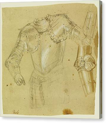 Studies Of Armor Paolo Veronese Paolo Caliari Or Workshop Canvas Print
