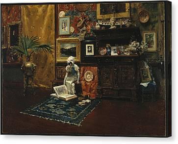 Studio Interior Canvas Print