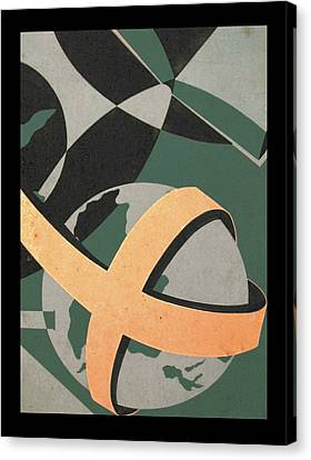 Study - Ecumenical Magazine 1965 Canvas Print by Glenn Bautista