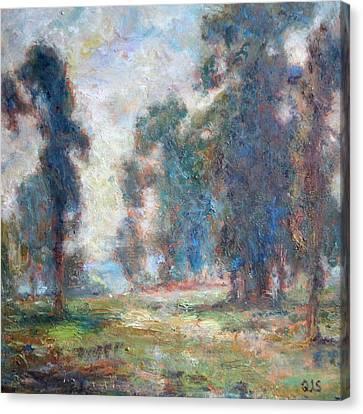 Study Of An Impressionist Master Canvas Print