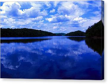 Canvas Print featuring the photograph Stumpy Pond 04a by Andy Lawless