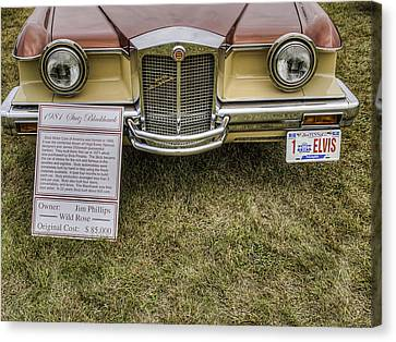 Stutz Blackhawk Canvas Print by Thomas Young