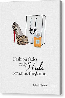 Style Remains The Same Canvas Print