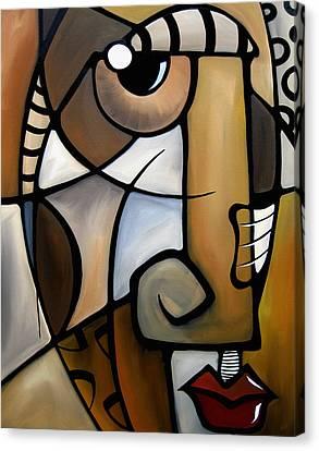 Abstract Art On Canvas Print - Stylized By Fidostudio by Tom Fedro - Fidostudio