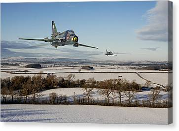 Su22 - Red Storm Canvas Print