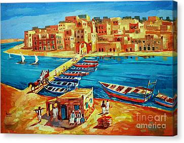 Canvas Print - Suakin 41 by Mohamed Fadul