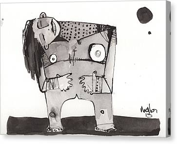 Sub Lunam No. 2 Canvas Print by Mark M  Mellon