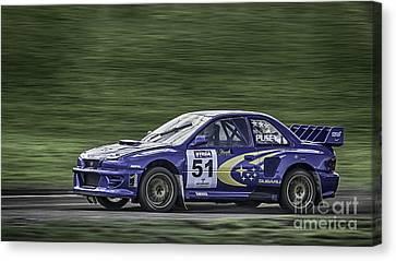 Subaru Imprezza Canvas Print