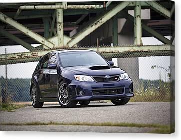 Subaru Wrx Sti Canvas Print by Eric Gendron