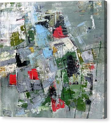 Canvas Print featuring the painting Sublet by Katie Black