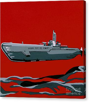 Submarine Sandwhich Canvas Print