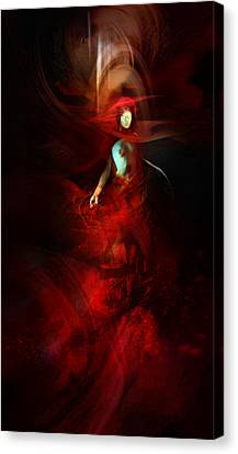 Submergence Canvas Print by Philip Straub