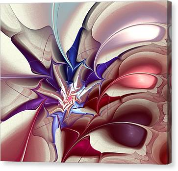 Subspace Fracture Canvas Print