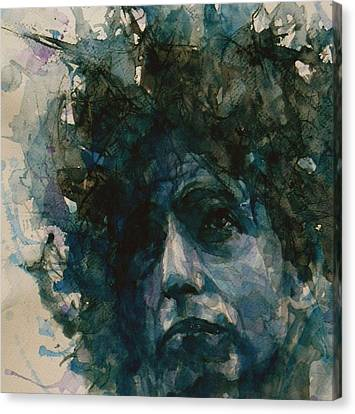 Subterranean Homesick Blues  Canvas Print by Paul Lovering