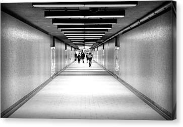 Subterraneans X4 Canvas Print by Eric Soucy