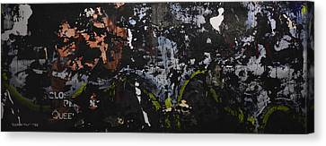 Subtext- Queen - 2014 Canvas Print by Kenneth Rst Vick