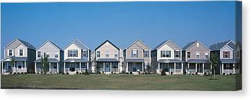 Suburban Housing Development Joliet Il Canvas Print by Panoramic Images