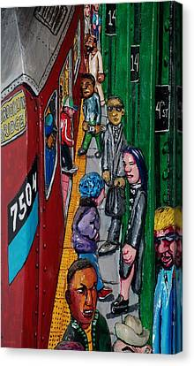 Subway 1 Canvas Print by Rob Hans