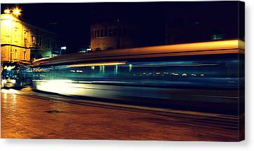 Subway Canvas Print by Amr Miqdadi