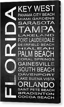 Subway Florida State 3 Canvas Print by Melissa Smith