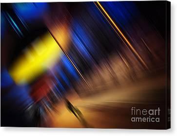 Subway Impressions Canvas Print by Martin Dzurjanik