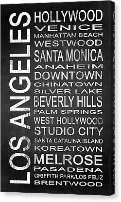 Brentwood Canvas Print - Subway Los Angeles 1 by Melissa Smith