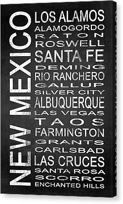 Subway New Mexico State 1 Canvas Print by Melissa Smith