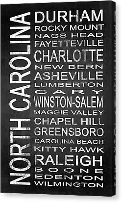 Subway North Carolina State 1 Canvas Print by Melissa Smith