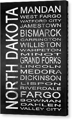 Subway North Dakota State 1 Canvas Print by Melissa Smith