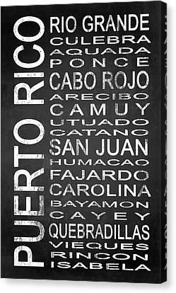 Subway Puerto Rico 1 Canvas Print by Melissa Smith