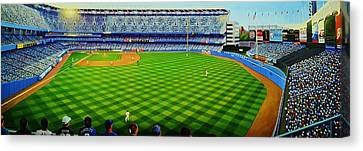 Subway Series Ninety Eight Canvas Print