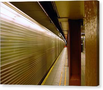Subway Speed Canvas Print
