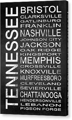 Subway Tennessee State 1 Canvas Print by Melissa Smith