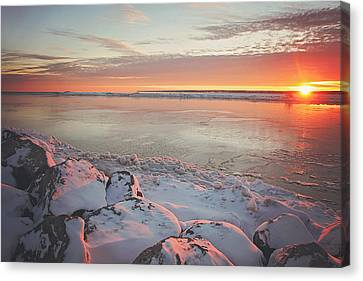 Subzero Sunrise Canvas Print
