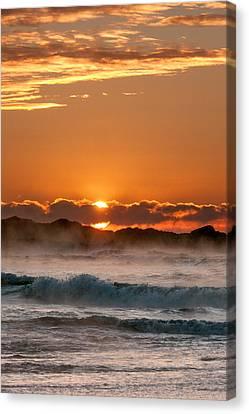 Subzero Sunrise Canvas Print